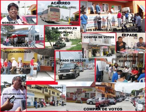 ELECCIONES PLAGADAS DE IRREGULARIDADES