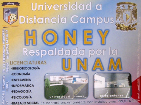 UNIVERSIDAD PARA HONEY
